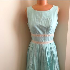 Convivial Pursuit Dress in Sky ~from ModCloth
